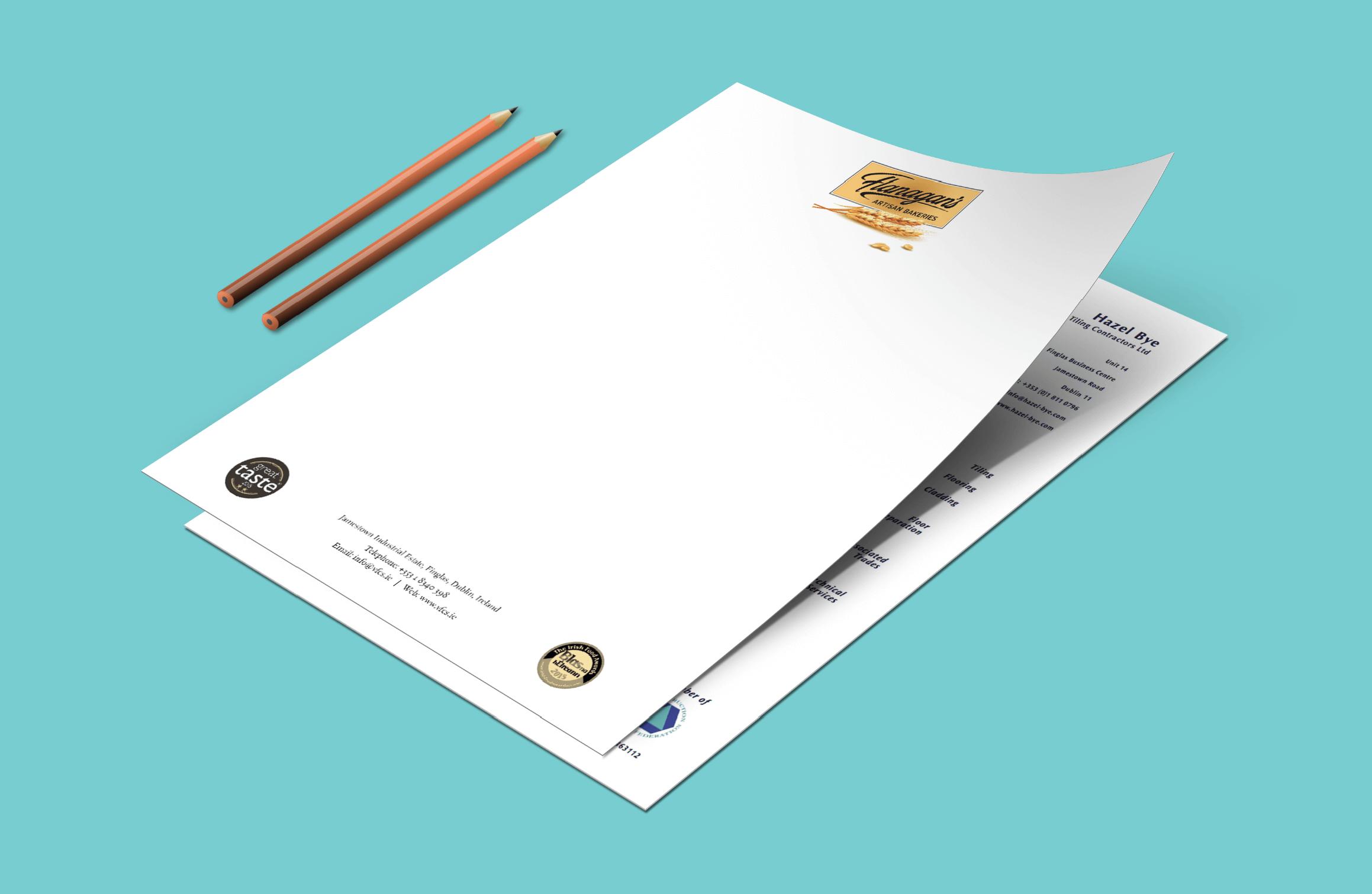 letterhead Dublin