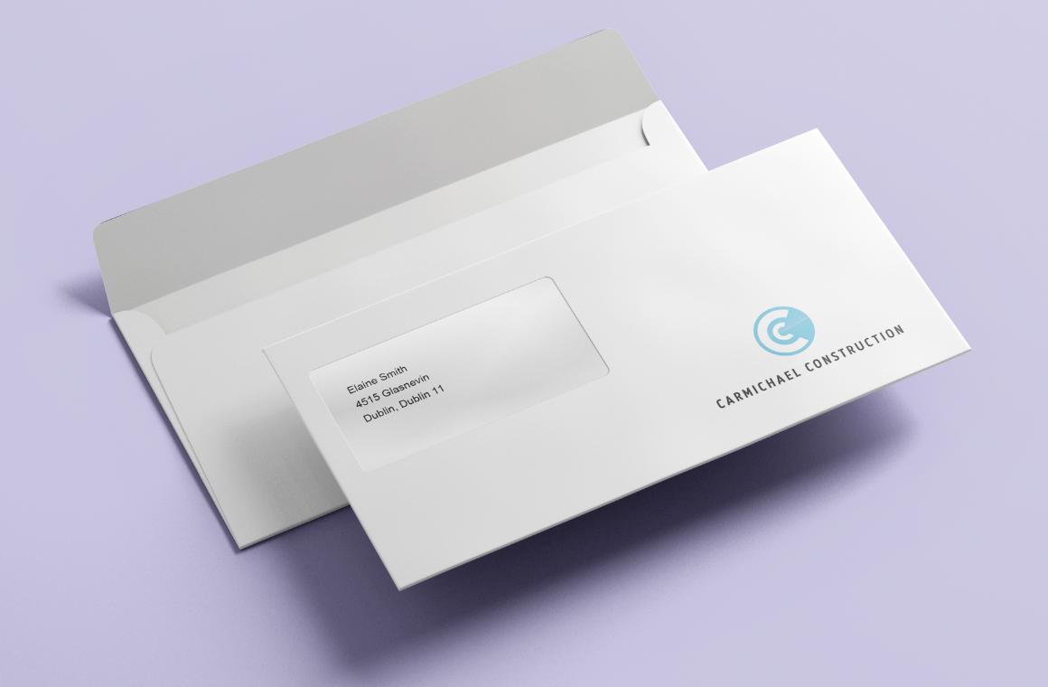 envelope printing in Dublin