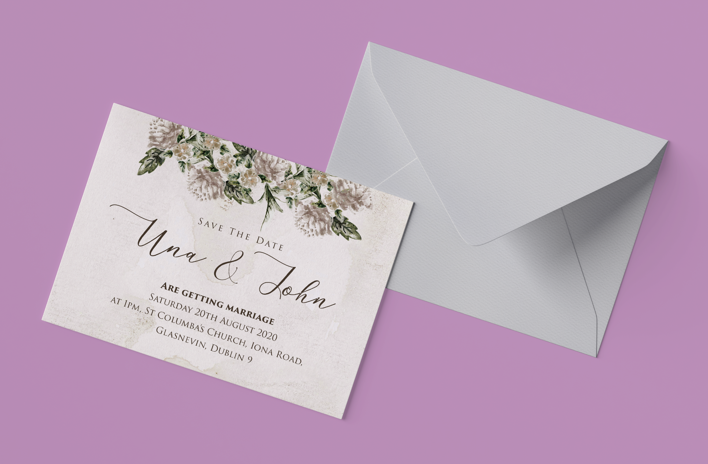 Dublin Printers - Wedding Save the Dates